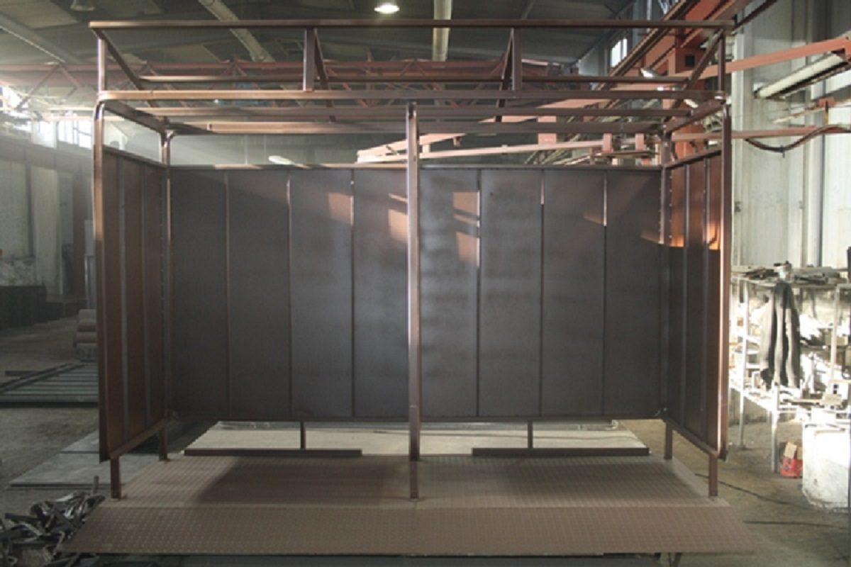 Втагильской колонии начали производить контейнерные площадки длямусора по заказу Нижегородской области