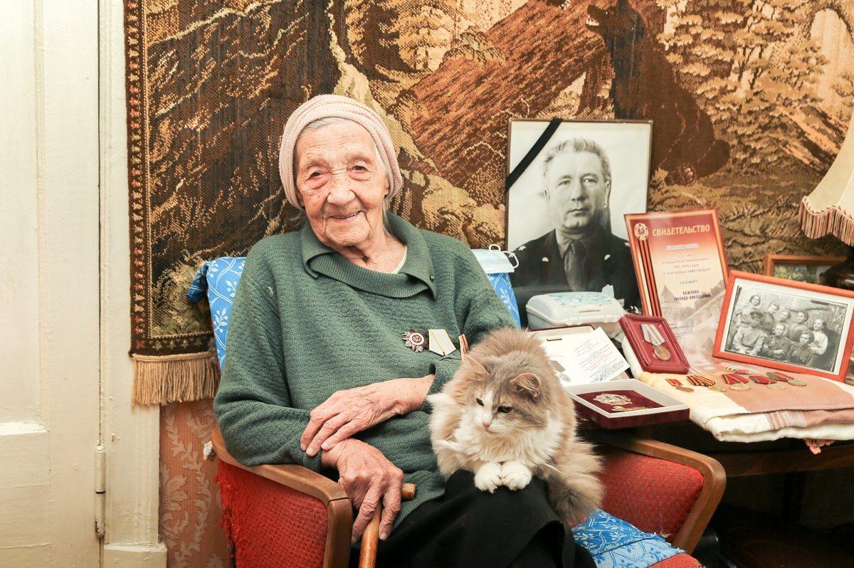 Фронтовая медсестра Зинаида Важнова отпраздновала столетний юбилей в Нижнем Новгороде