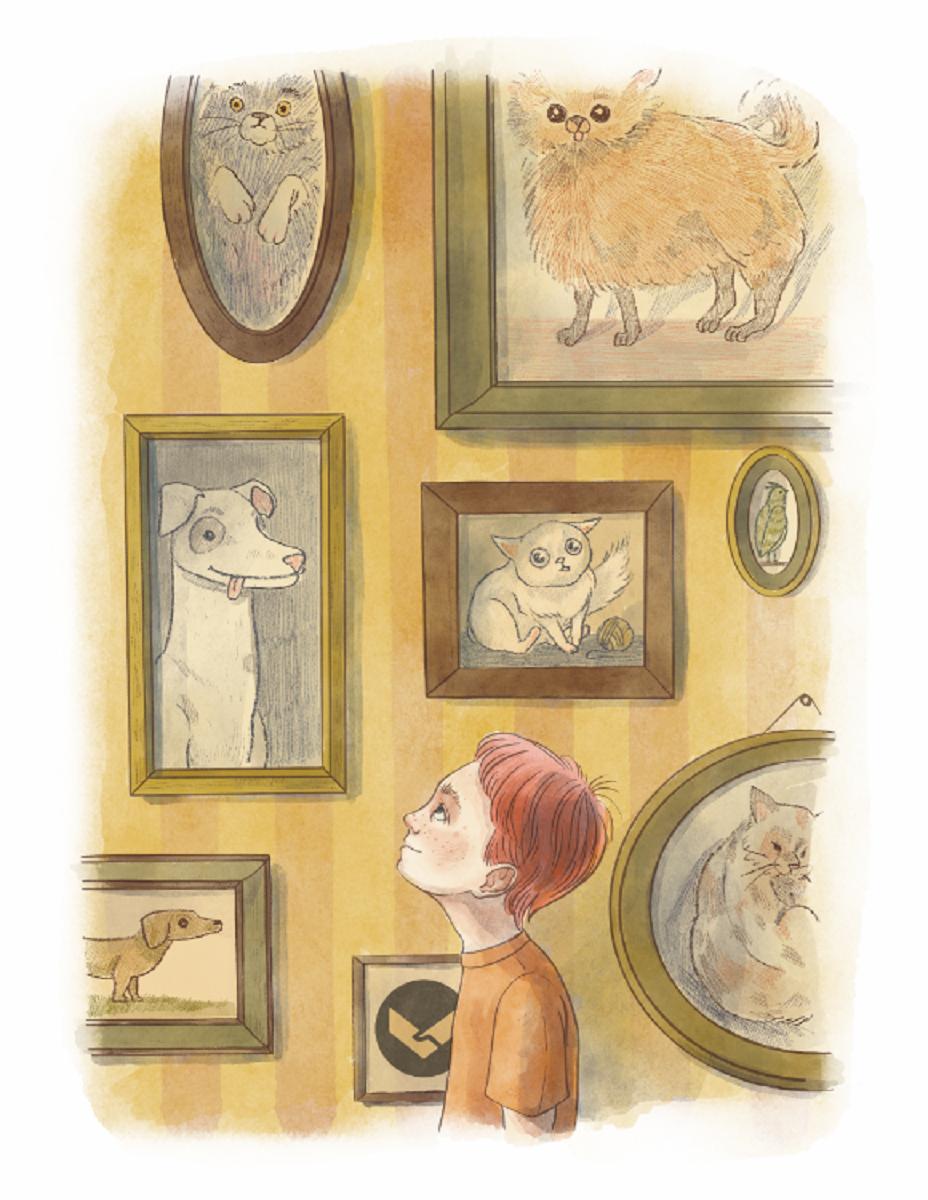 Иллюстрация к сказке о Паше