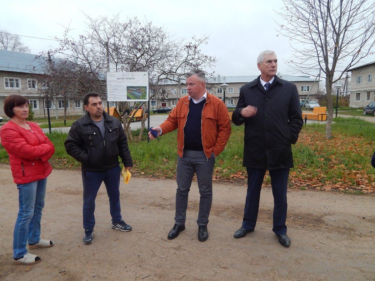 Запланированные на этот год работы по проектам «Единой России» в Тоншаевском районе завершены
