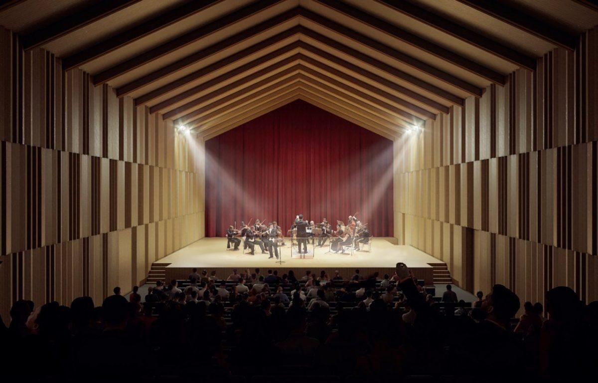 Внутри пакгаузов наСтрелке появится концертный зал
