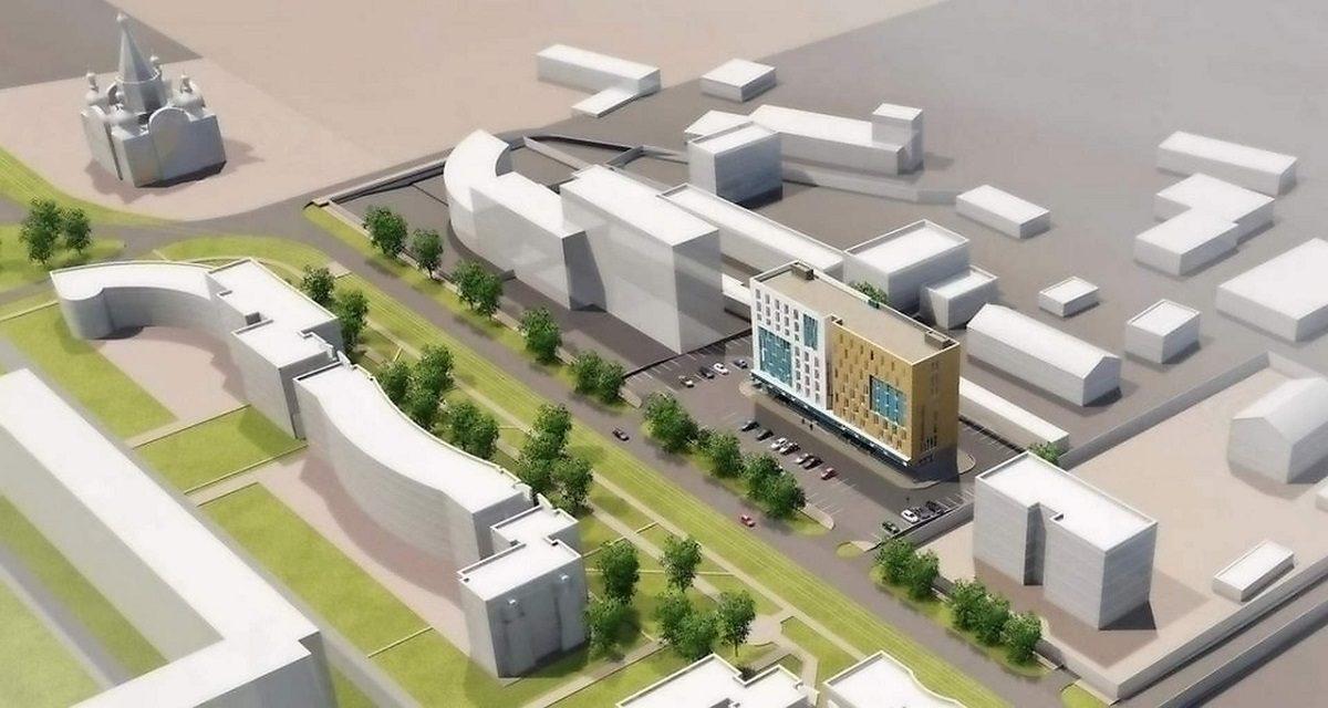 Торговый комплекс с апартаментами построят на Гордеевке