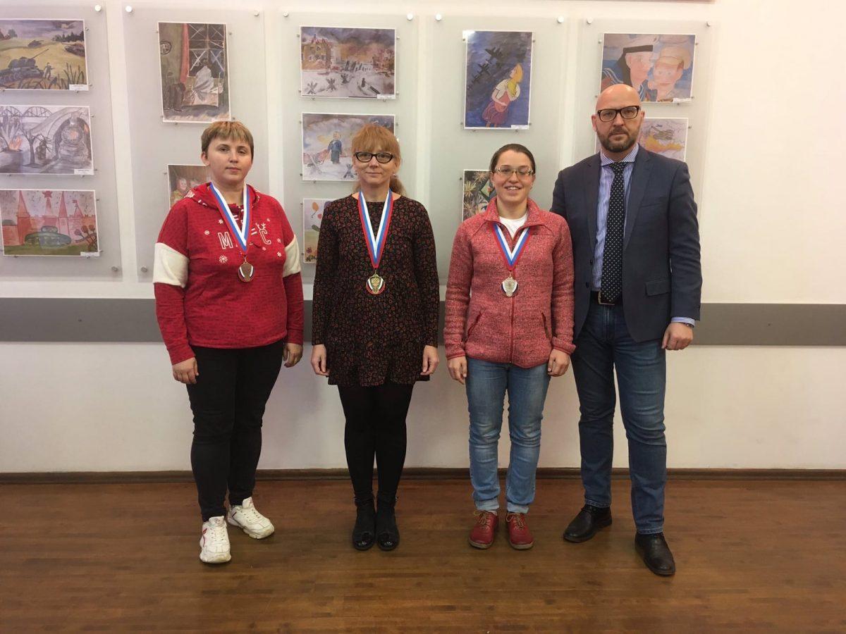 Нижегородская спортсменка заняла второе место на Чемпионате России по русским шашкам «спорт слепых»