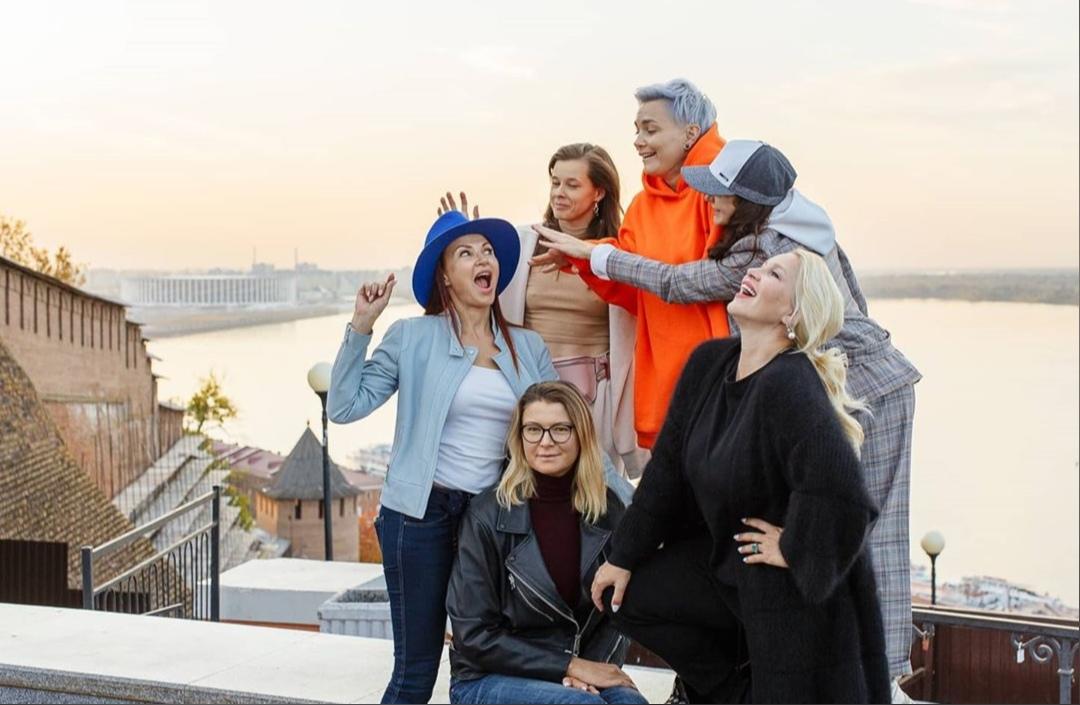 Известные подруги Екатерины Одинцовой поделились фотографиями и впечатлениями от прогулки по Нижнему Новгороду