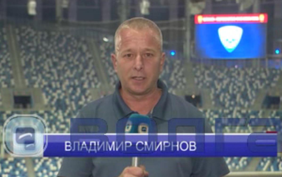 Известный спортивный комментатор Владимир Смирнов вернулся на нижегородское телевидение