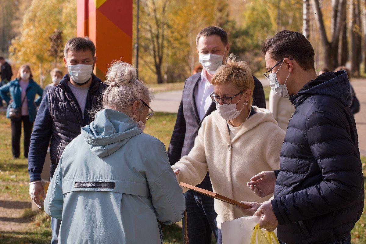 Общественных контролеров партпроекта «Городская среда» наградили в Сормовском районе