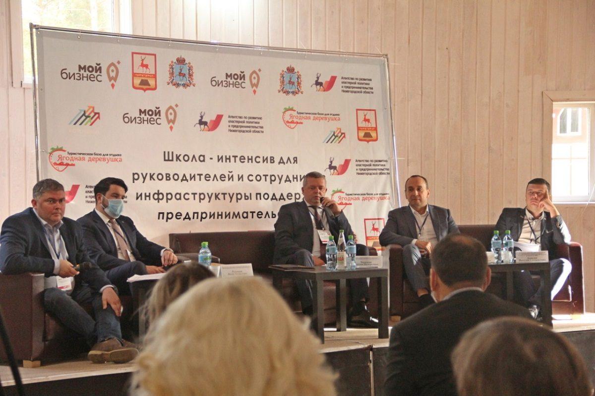 Школу-интенсив для представителей инфраструктуры поддержки предпринимательства провели вНижегородской области