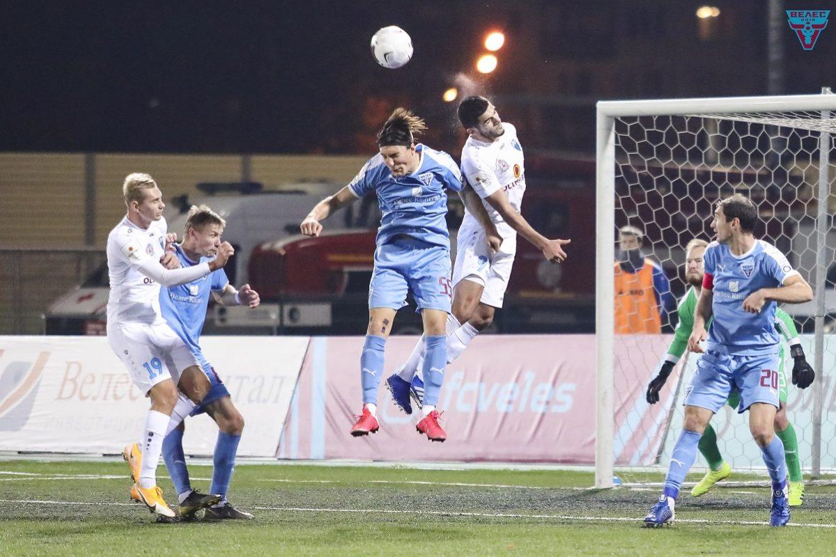 Победа над «Велесом» стала для ФК «НН» восьмой подряд