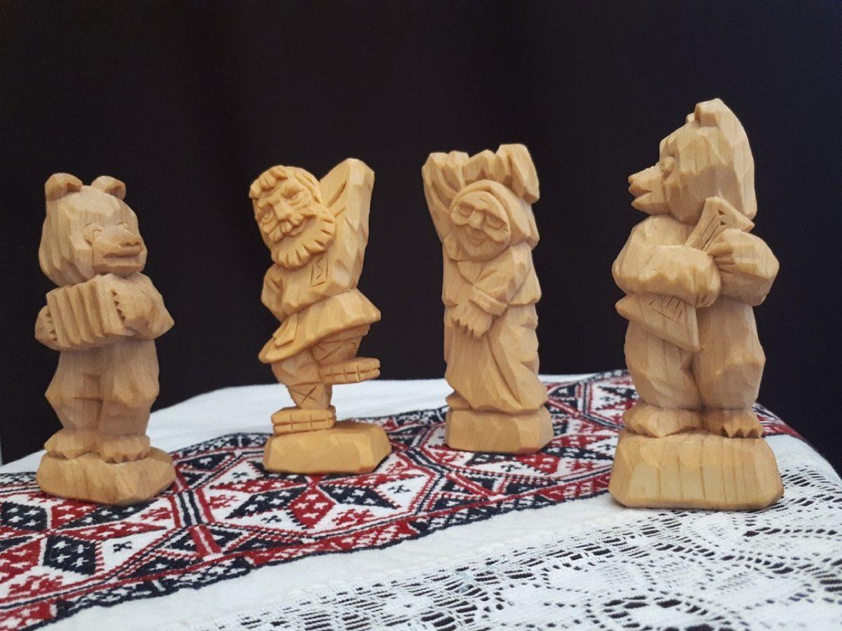 Нижегородцы увидят более 100 фигурок из дерева, выполненных всемирно известным мастером Игорем Фроловым