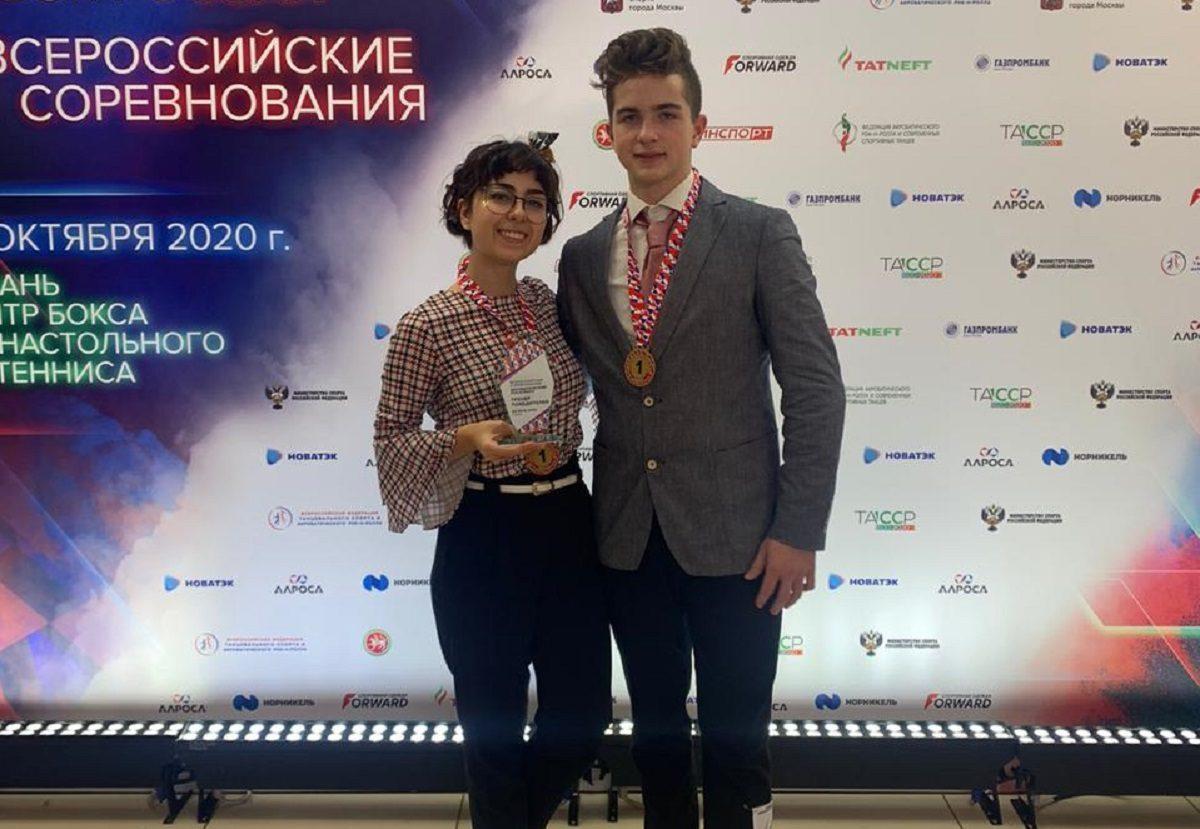 Нижегородцы выиграли золото на Кубке России по акробатическому рок-н-роллу