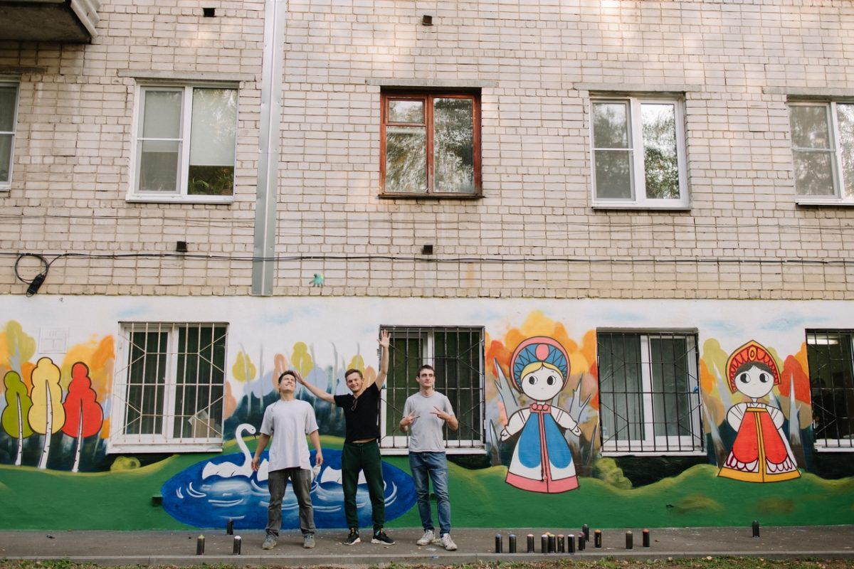 В нижегородской детской поликлинике устроили «арт-перезагрузку»