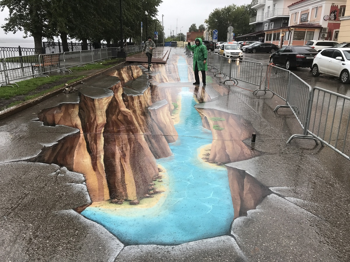 асфальт 3D граффити