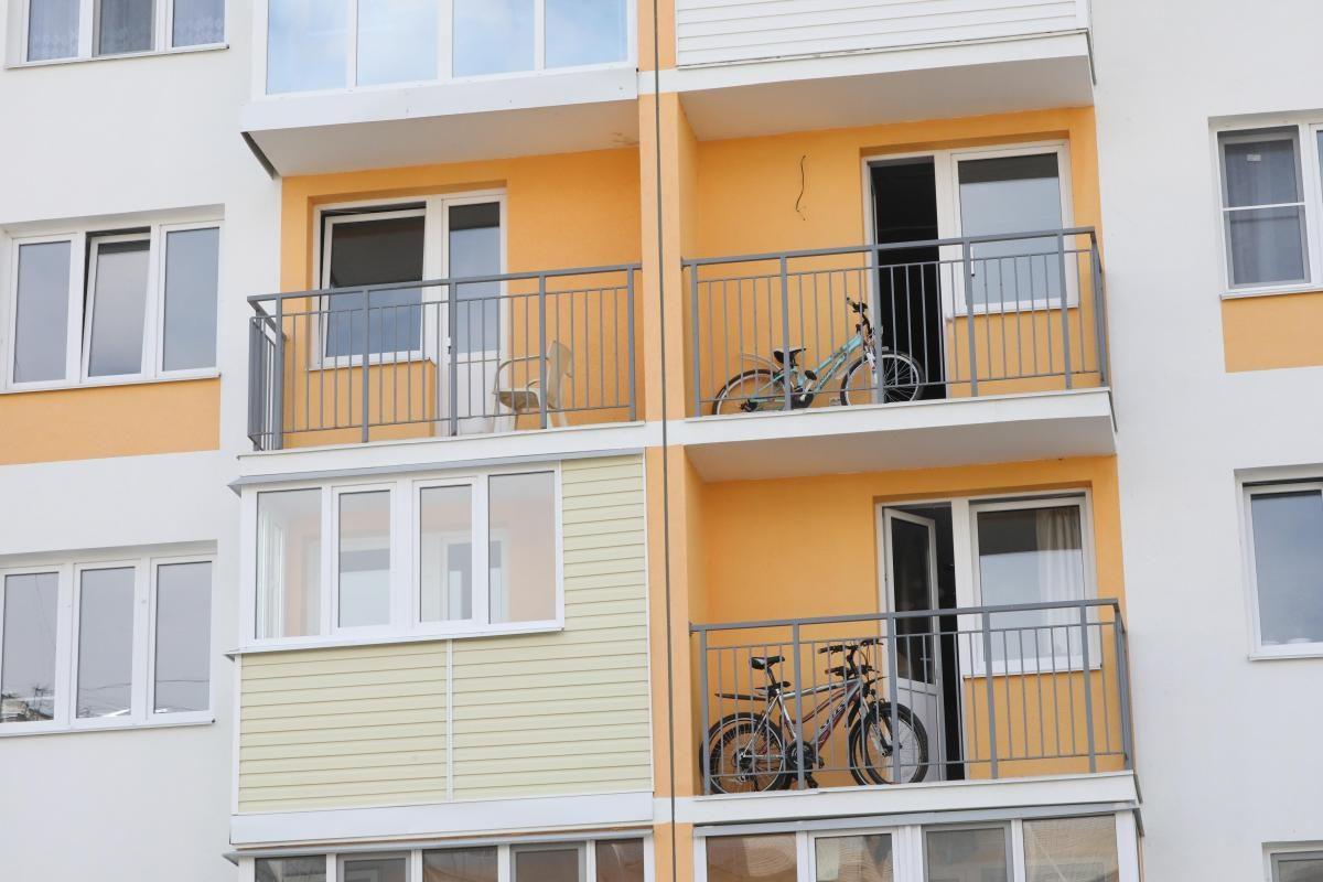 В жилом доме в Выксе рухнул балкон