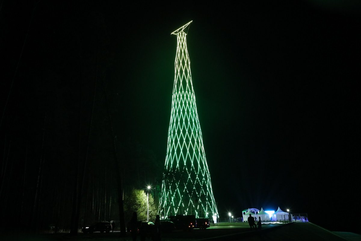 УШуховской башни вДзержинске состоялся концерт классической музыки