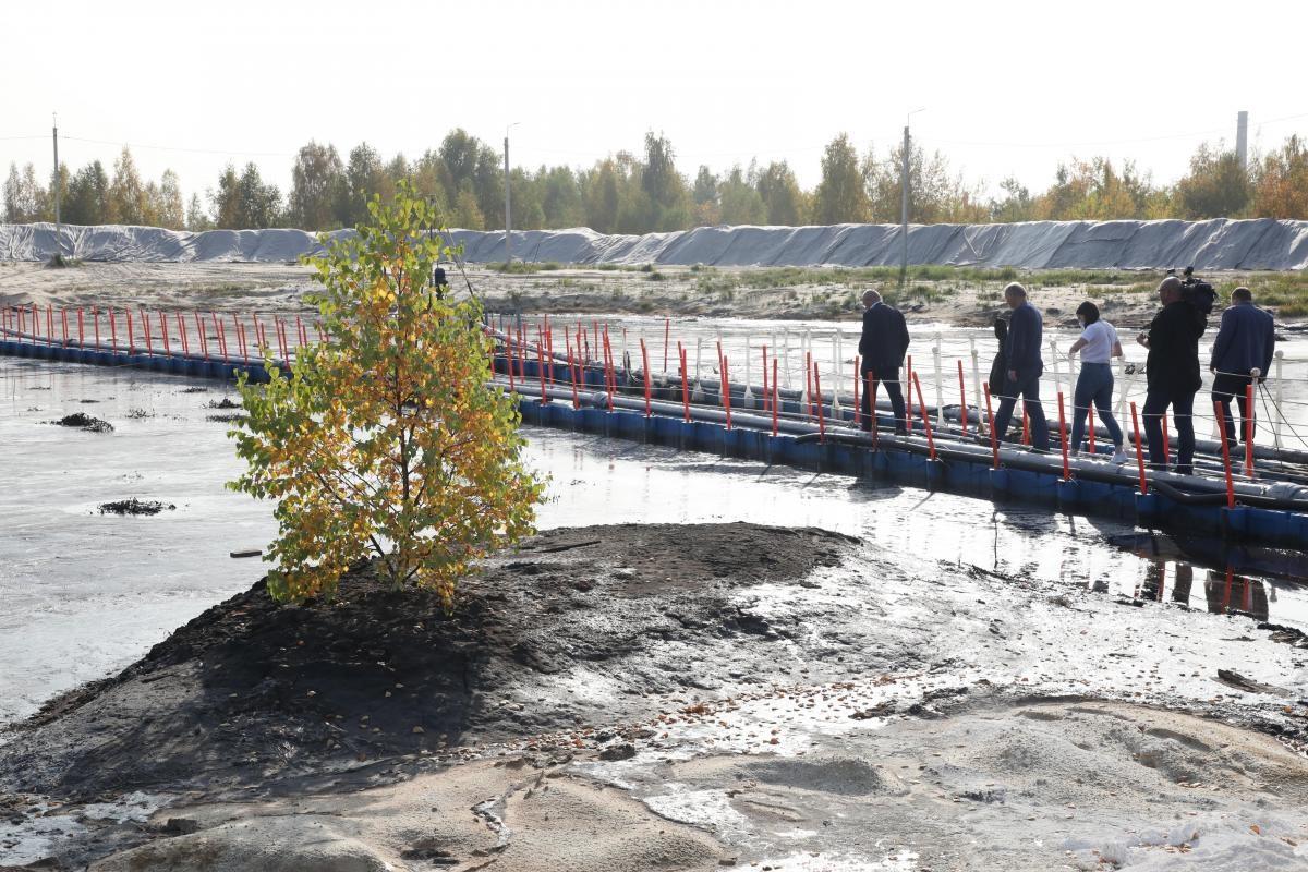 Депутат ГосдумыРФ ипредставители РАН ознакомились стехнологиями рекультивации объектов накопленного экологического вреда