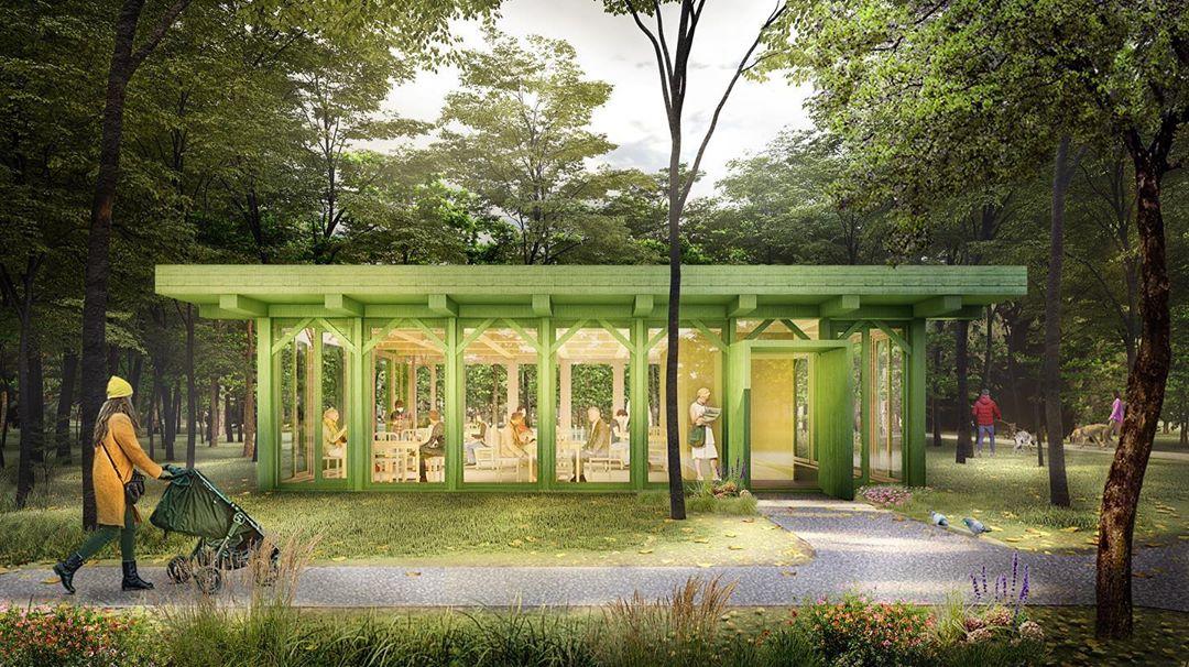 Круглогодичные читальни появятся в нижегородском парке «Швейцария»