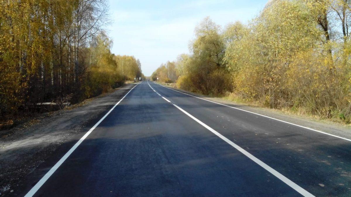 Участок дороги протяженностью 17,4км отремонтировали вГородецком районе