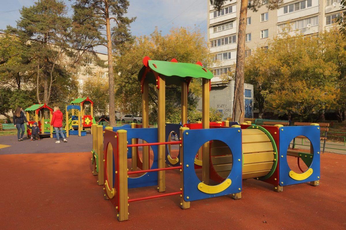 ВДзержинске завершены работы покомплексному благоустройству дворов