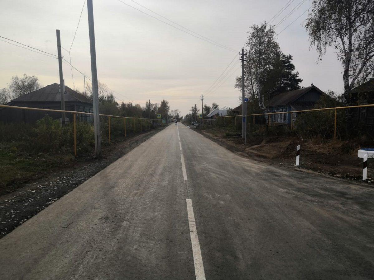 После реконструкции дороги Субботино— Большая Уда расстояние ивремя впути сократилось почти втри раза