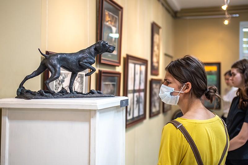 Выставка работ студентов Академии Сергея Андрияки открылась вНижегородском художественном училище