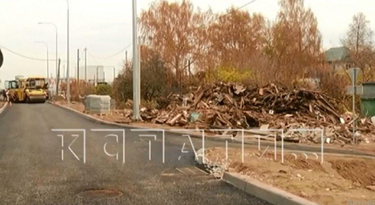 Дом без ведома хозяев снесли при строительстве дороги в Неклюдово