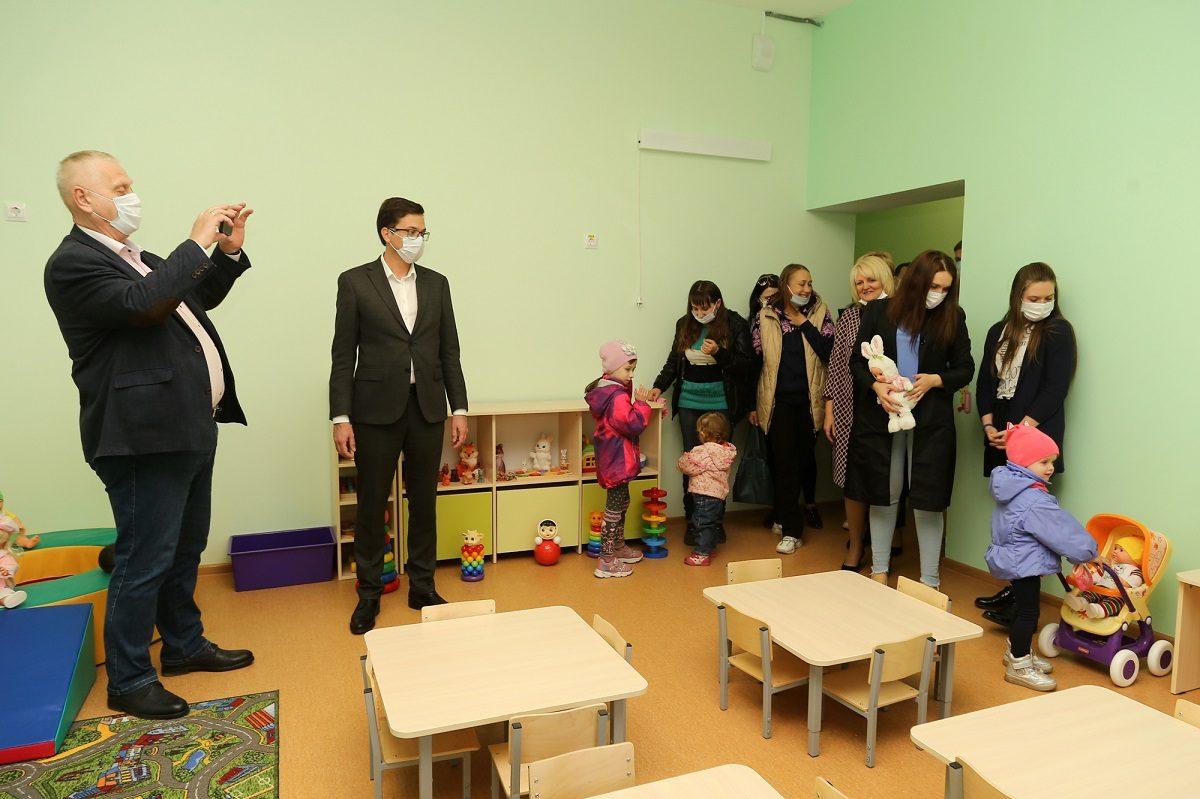 Ясельный пристрой, адаптированный для детей с особенностями развития, открылся в Сормовском районе