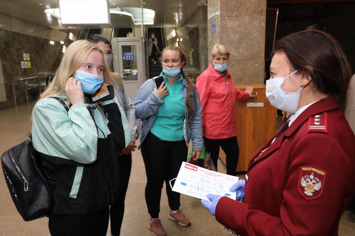 «Среди заболевших 80-85 процентов не применяли средства индивидуальной защиты»: в Роспотребнадзоре напомнили о необходимости носить маски
