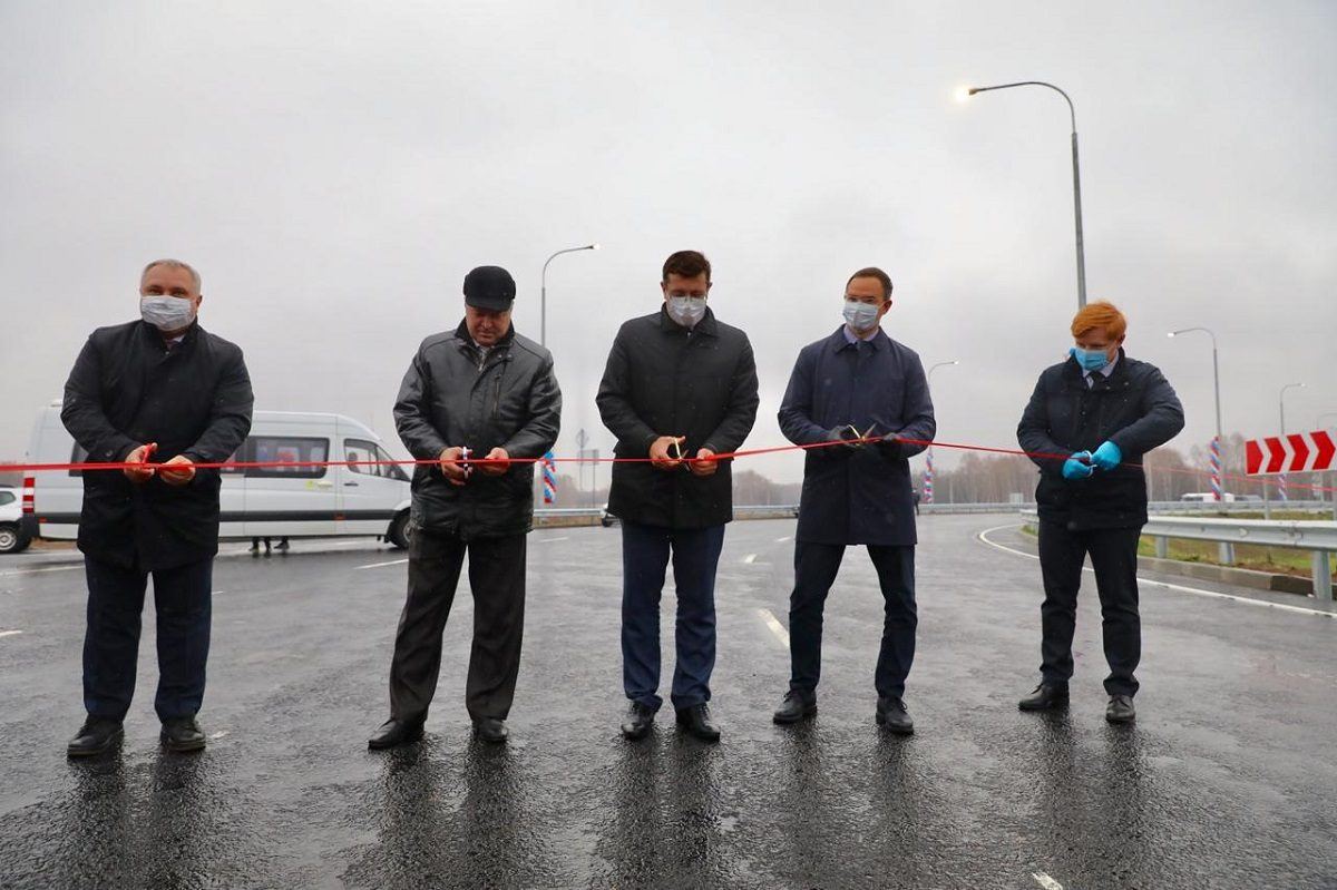 Глеб Никитин: «Дорогу Неклюдово-Золотово удалось сдать вэксплуатацию практически нагод раньше срока»