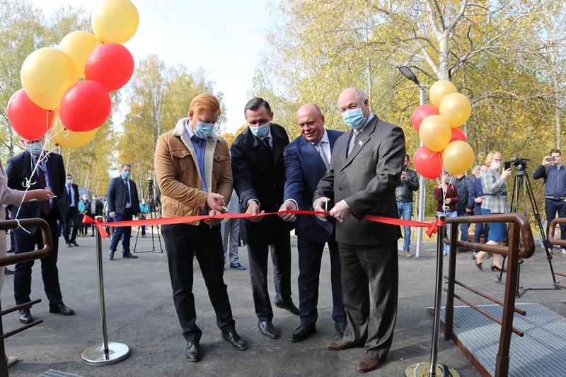 Пассажирский павильон открылся на новом остановочном пункте Нижний Новгород – Стригино
