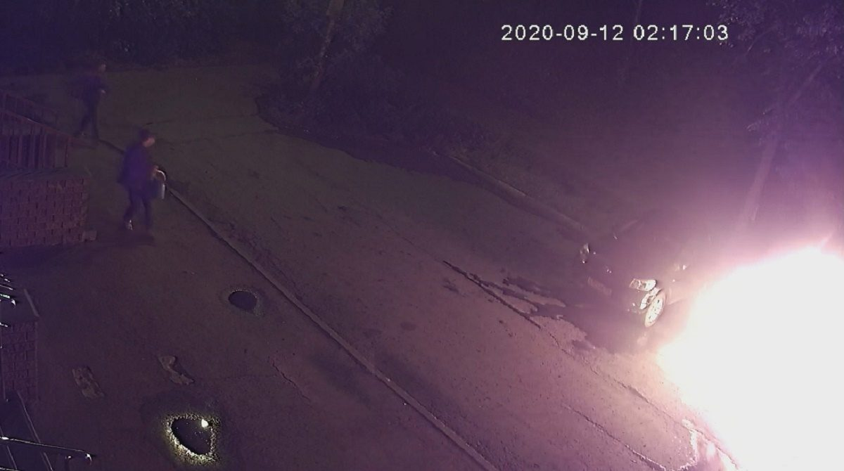 Нижегородка подожгла машину своему коллеге