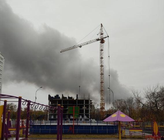 Склад загорелся в Сормовском районе