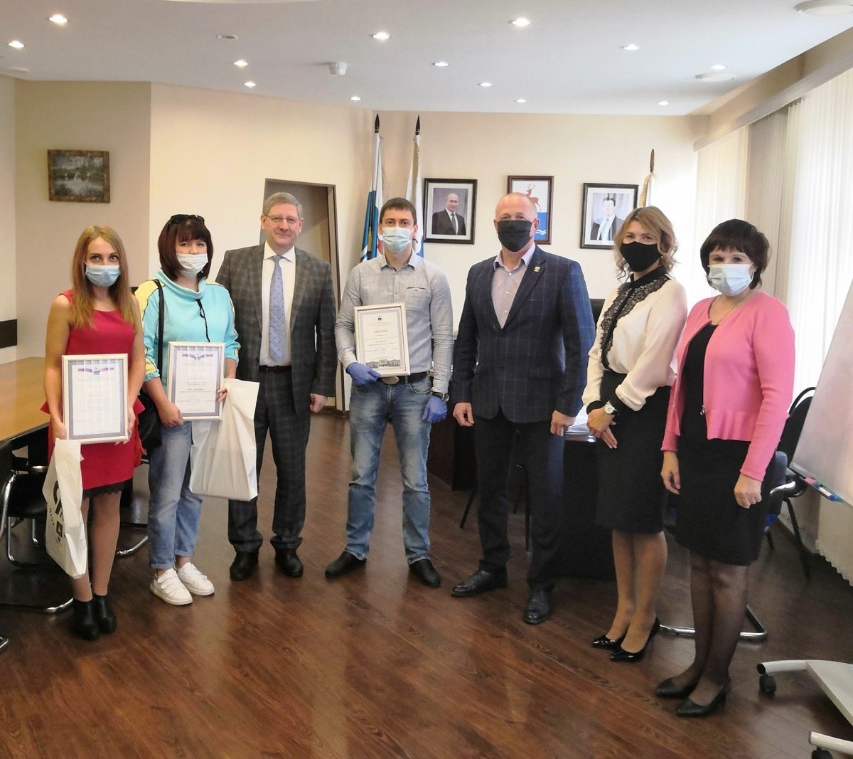Победителей конкурса «Предприниматель года» наградили в Кстове