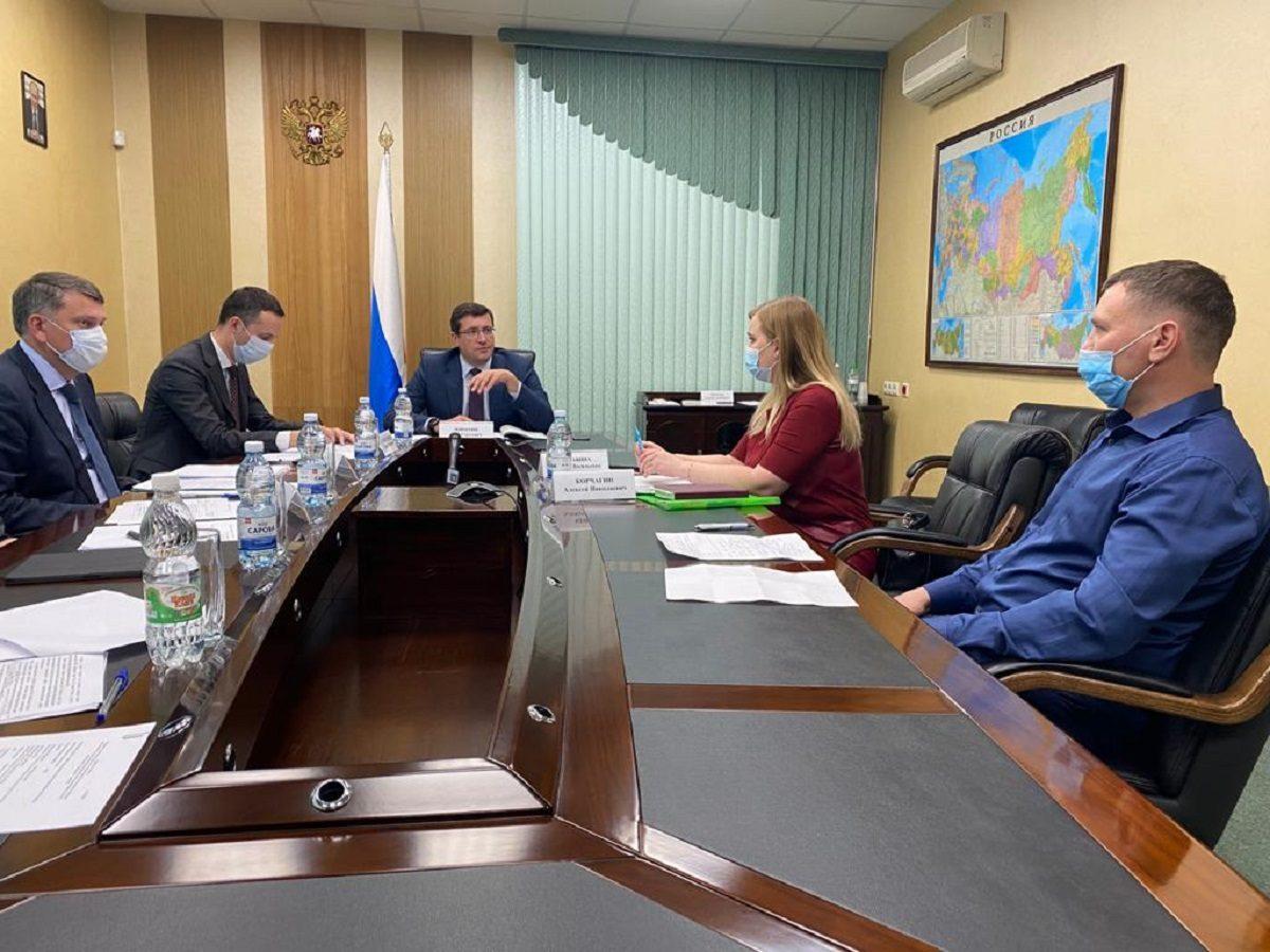 Глеб Никитин обсудил ситуацию с достройкойЖК «Новинки Smart City» спредставителями дольщиков