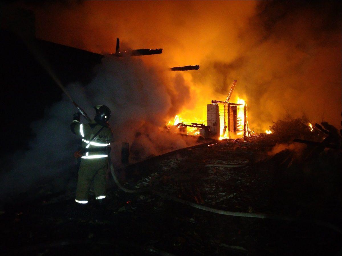 62-летний мужчина погиб в пожаре на Бору