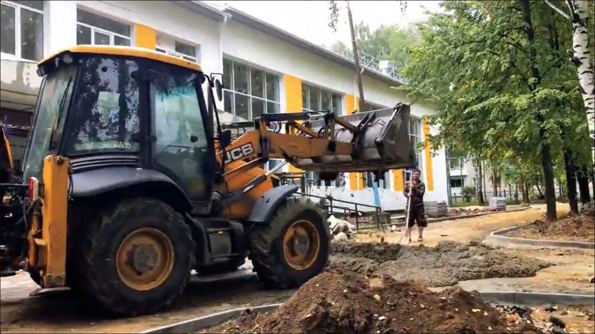 50-летнюю школу отремонтировали в Чкаловске за 40 млн рублей (ВИДЕО)