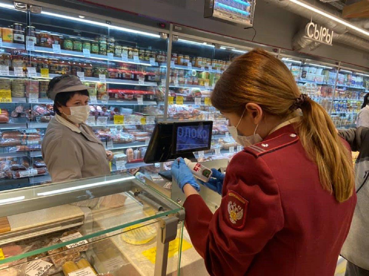 Три продуктовых магазина опечатали из-за несоблюдения санитарных правил по коронавирусу