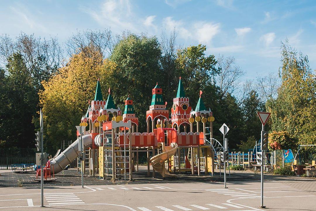 Детскую площадку Натальи Водяновой планируют перенести из парка «Швейцария» в новое место
