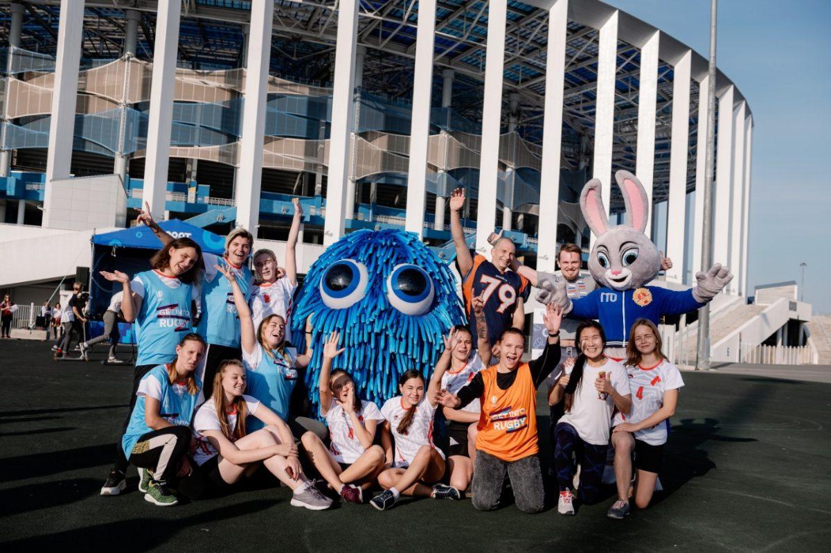 Открытые тренировки и барабанное шоу устроили для нижегородцев на фестивале «Спорт-Fest 2020»
