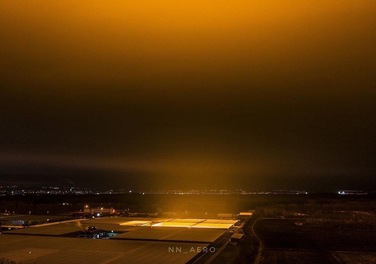 Источник «Ока Саурона»: что стало причиной странного свечения над Нижним Новгородом