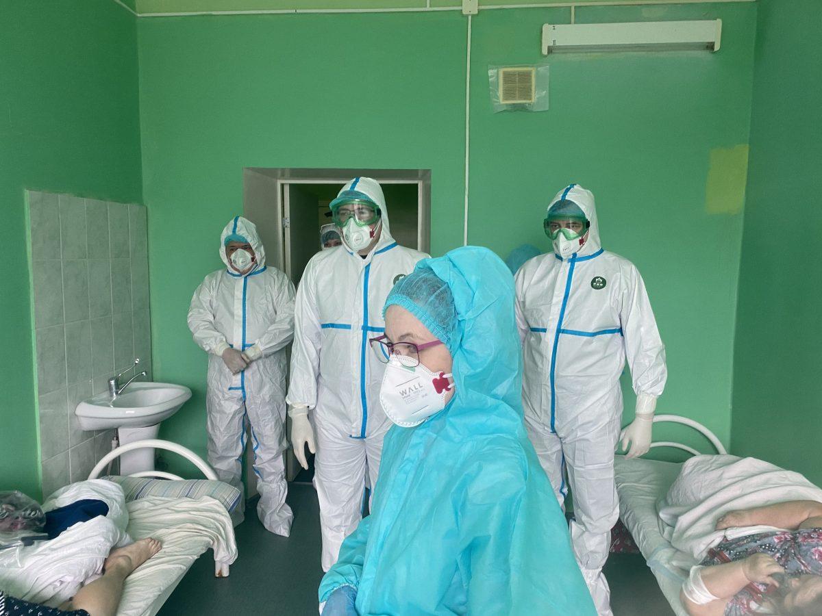Глеб Никитин: «Обновленное инфекционное отделение для пациентов сCOVID-19 вскоре откроется вУренской ЦРБ»
