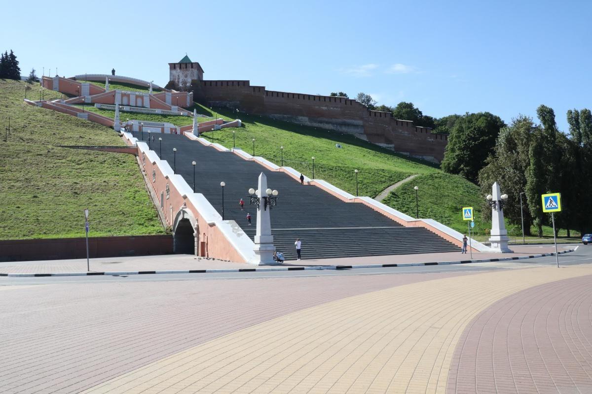 Чкаловскую лестницу отреставрируют более чем за 66 млн рублей