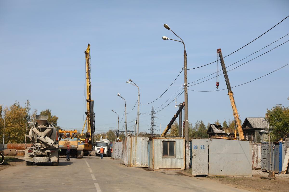 Примыкающие дороги к развязке на улице Циолковского планируют реконструировать