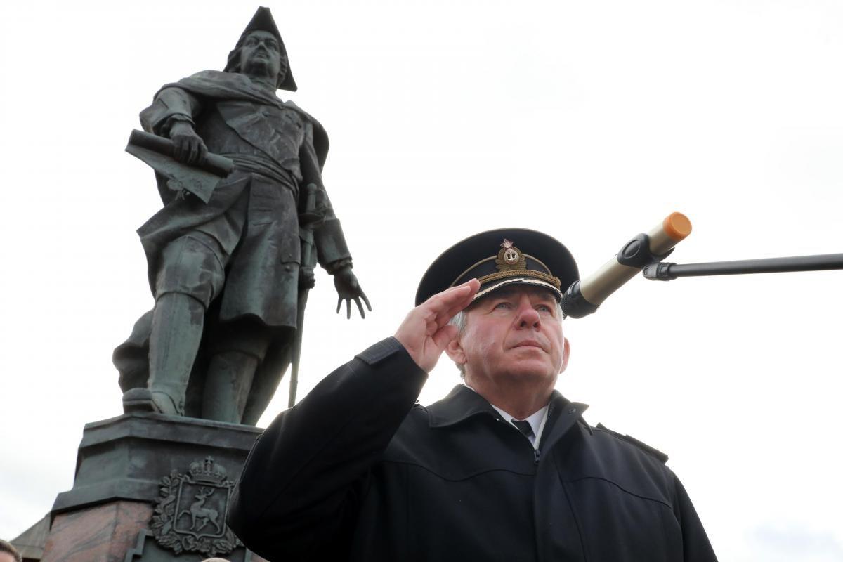День создания российского флота отметили в Нижнем Новгороде