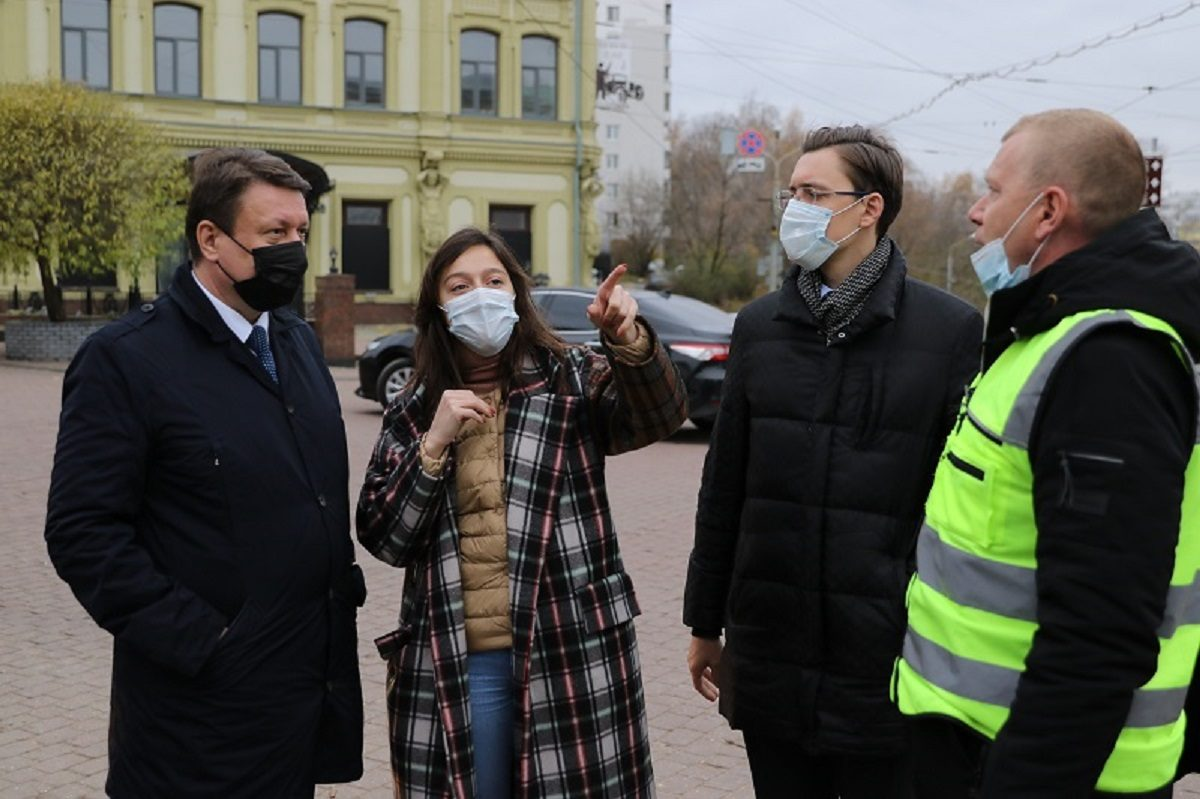 Общественные пространства в центре города благоустраиваются к 800-летию Нижнего Новгорода