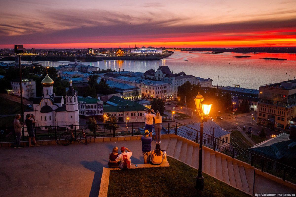Кремлёвский бульвар в Нижнем Новгороде вошёл в топ самых красивых улиц России