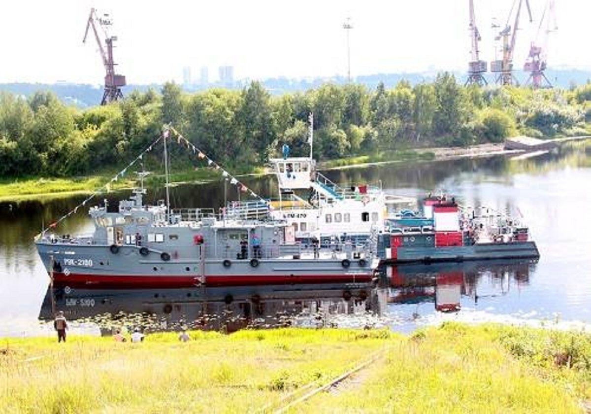 Нижегородское судно вошло в состав аварийно-спасательного отряда Беломорской военно-морской базы