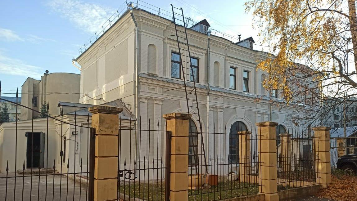 Завершилась реставрация одного иззданий Нижегородской областной научной библиотеки им.В. И. Ленина