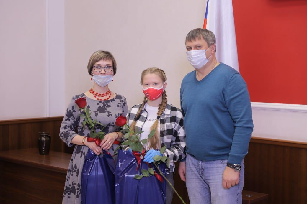 Глава Дзержинска встретился с участниками Всероссийского конкурса «Большая перемена»