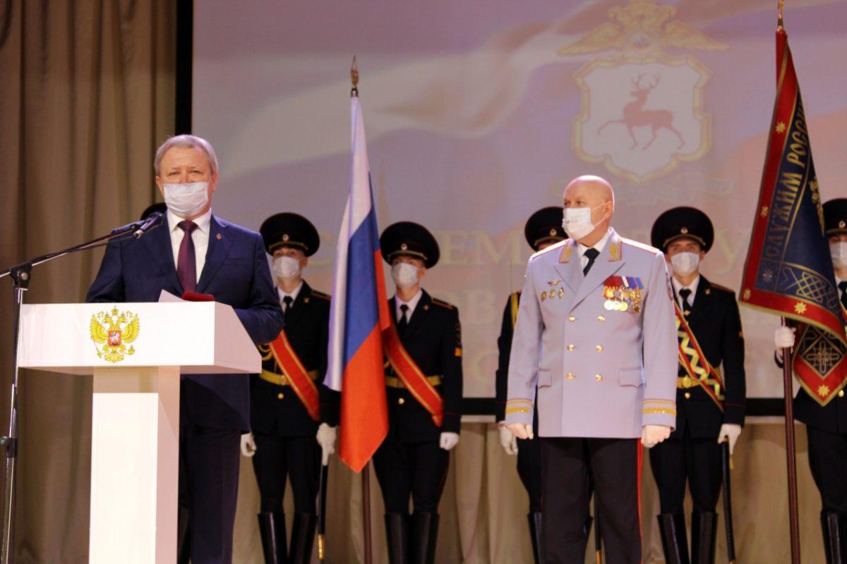 Дмитрий Краснов принял участие вторжественном собрании, посвященном Дню полиции