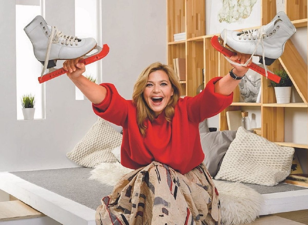 Ирина Пегова готовит «сарабанду» для «Ледникового периода»